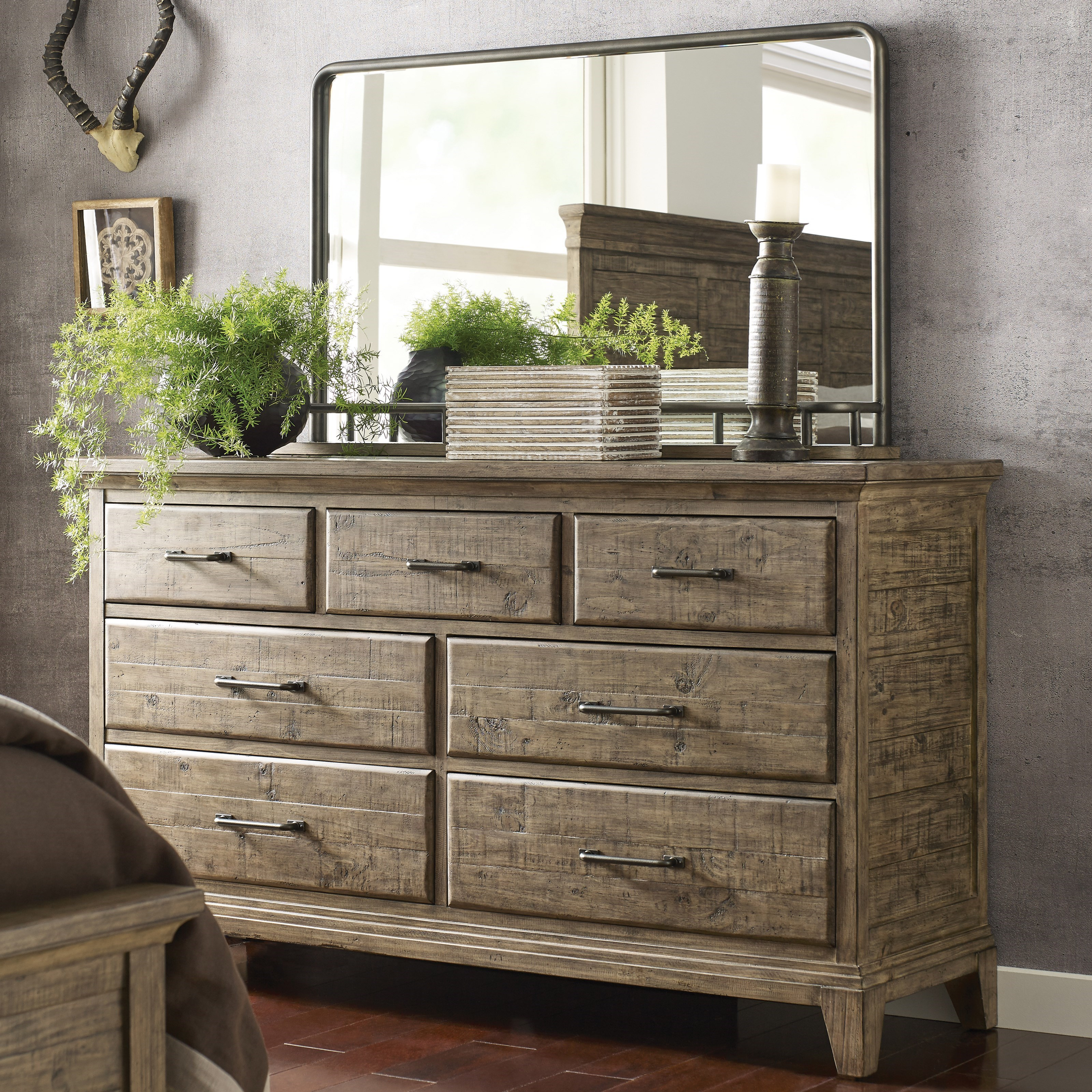 Farmstead Dresser + Westwood Mirror Set