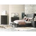 Kincaid Furniture Plank Road Eastburn Solid Wood Queen Sleigh Bed