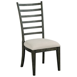 Kincaid Furniture Plank Road Oakley Side Chair