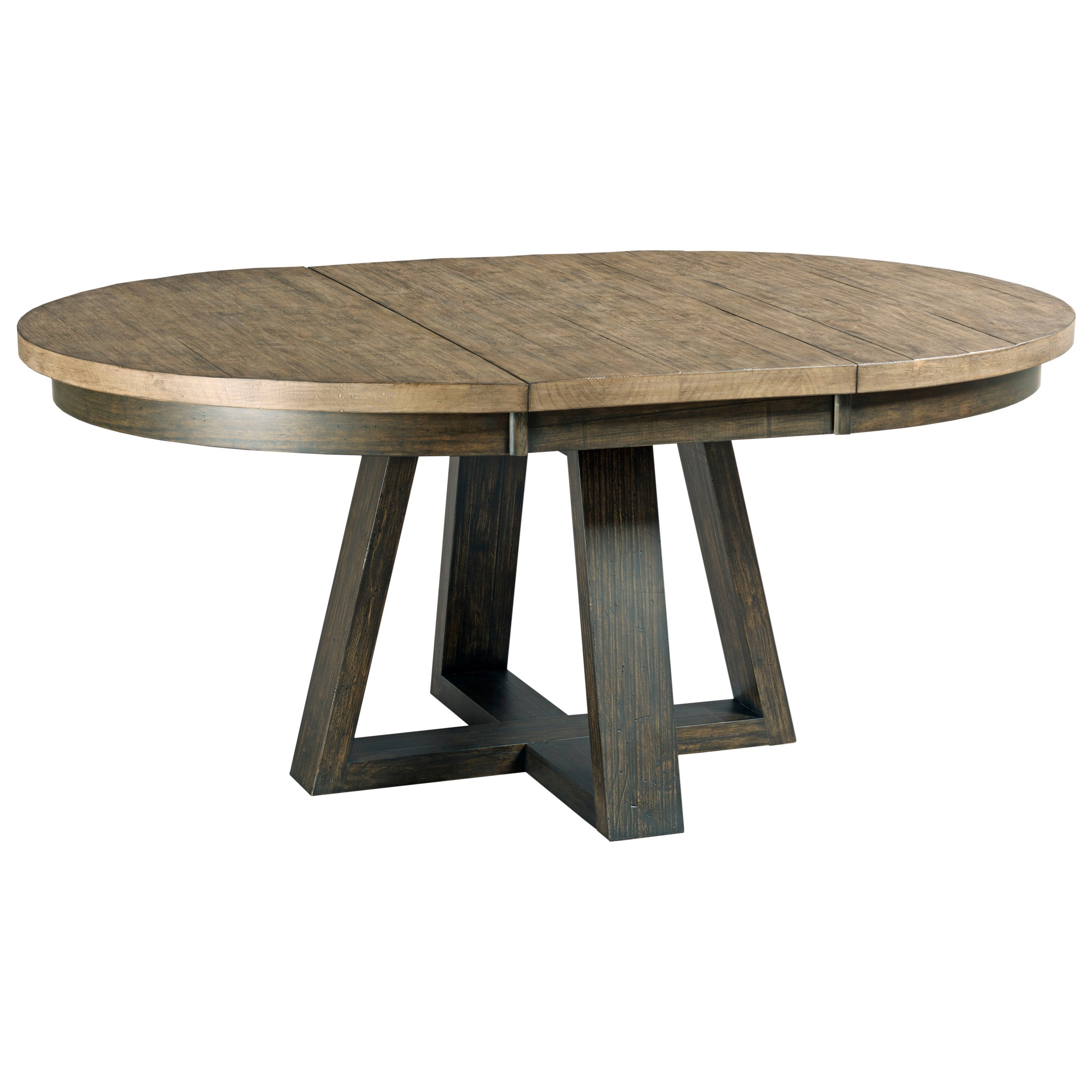 Kincaid furniture plank road button solid wood dining