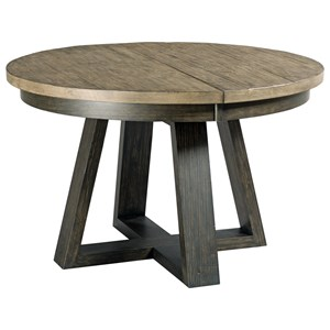 Kincaid Furniture Plank Road Button Dining Table