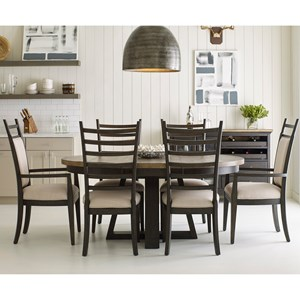 Kincaid Furniture Plank Road 7 Pc Dining Set