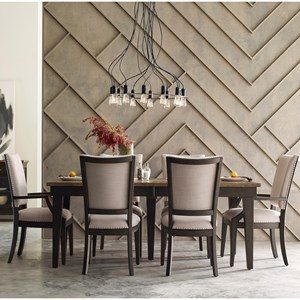 Kincaid Furniture Plank Road 7 Pc Dining Set w/ Rankin Table