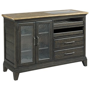 Kincaid Furniture Plank Road Pleasant Hill Wine Server