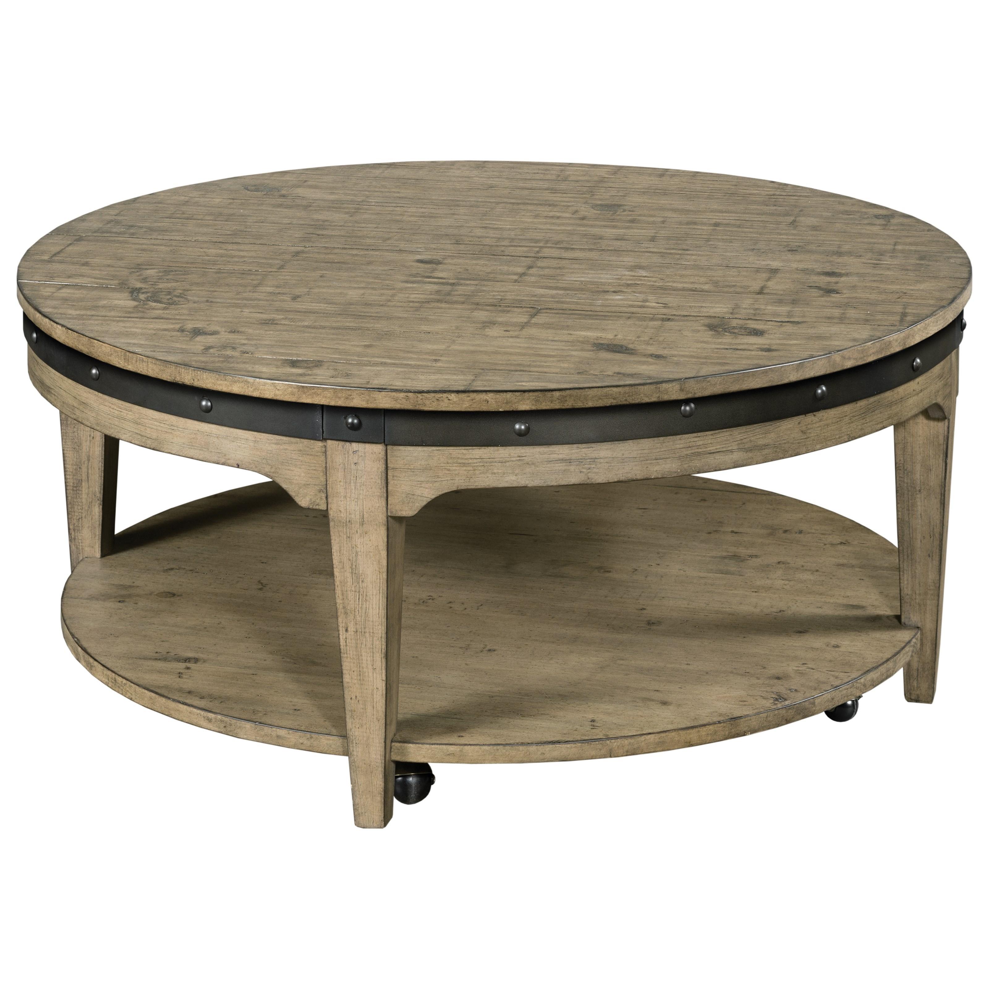 Artisans Round Cocktail Table