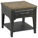 Kincaid Furniture Plank Road Artisans Rectangular Drawer End Table        - Item Number: 706-915C