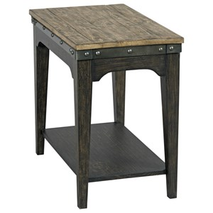 Kincaid Furniture Plank Road Artisans Chairside Table