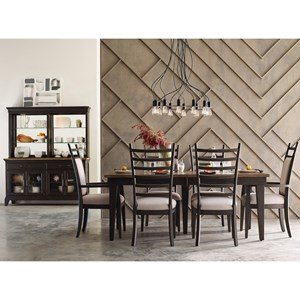 Kincaid Furniture Plank Road Formal Dining Room Group