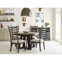 Kincaid Furniture Plank Road Casual Dining Room Group - Item Number: 706C Dining Room Group 4