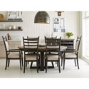 Kincaid Furniture Plank Road Formal Dining Room Group - Item Number: 706C Dining Room Group 5