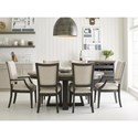 Kincaid Furniture Plank Road Formal Dining Room Group - Item Number: 706C Dining Room Group 6
