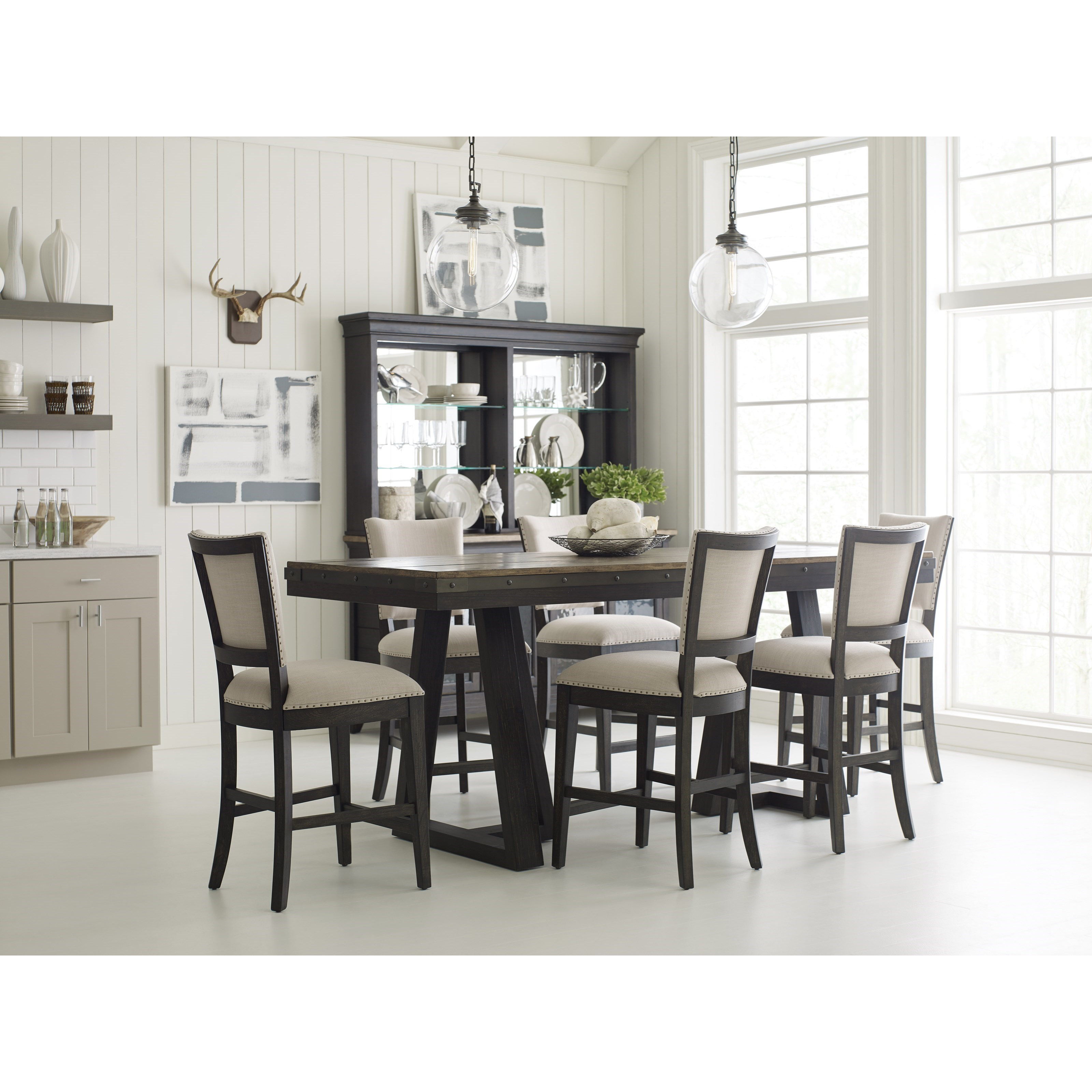 Kincaid Dining Room Set: Kincaid Furniture Plank Road Casual Counter Height Dining Room Set