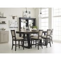 Kincaid Furniture Plank Road Formal Counter Height Dining Room Set - Item Number: 706C Dining Room Group 7