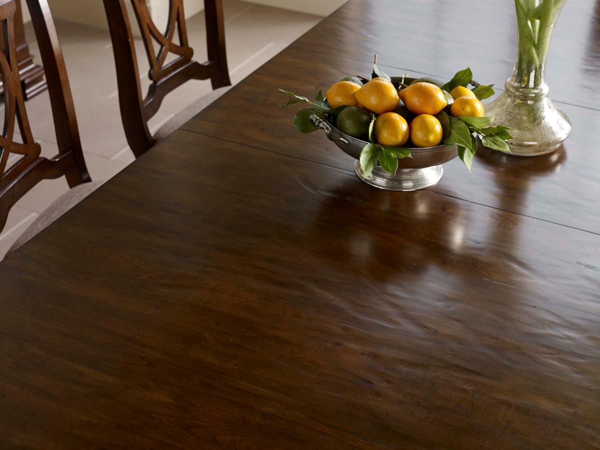 Kincaid Furniture Portolone Seven Piece Trestle Table