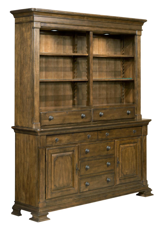 kincaid furniture portolone portolone credenza and china hutch item number - China Hutch