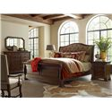 Kincaid Furniture Portolone King Portolone Upholstered Sleigh Bed