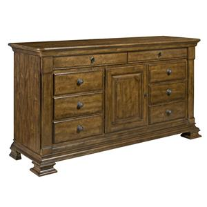 Kincaid Furniture Portolone Basilica Door Dresser