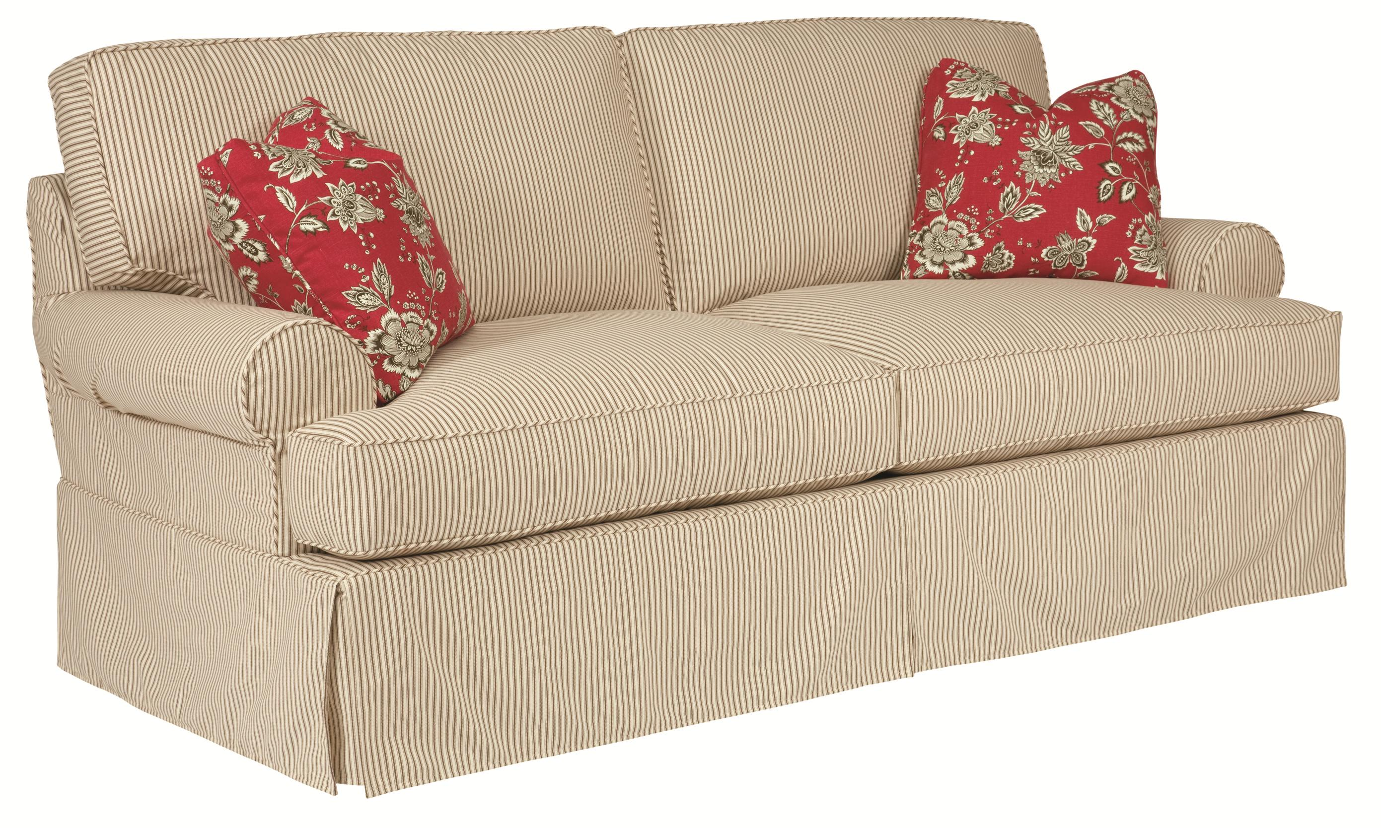Kincaid Furniture Samantha Slipcover Queen Sleeper With Slipcover