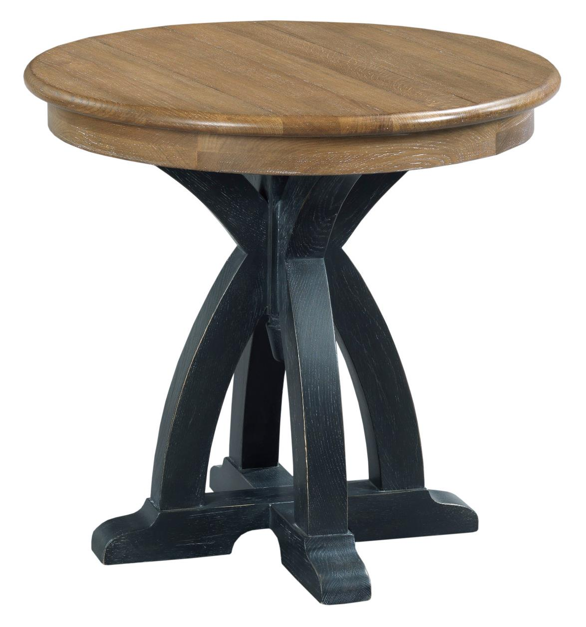 Kincaid Furniture Stone Ridge Round Wood End Table - Item Number: 72-021