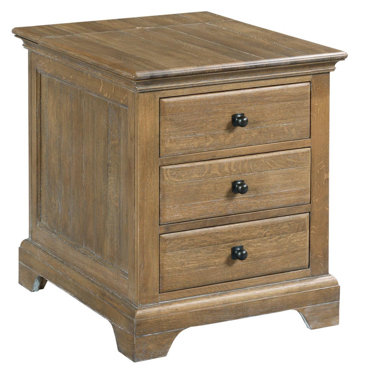 Kincaid Furniture Stone Ridge 72 026 Transitional Chairside Table