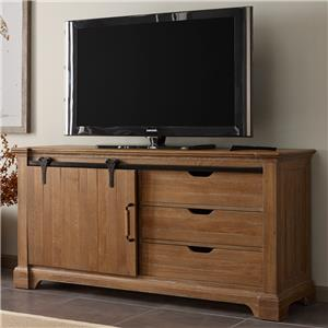 Kincaid Furniture Stone Ridge Sliding Door Entertainment Console