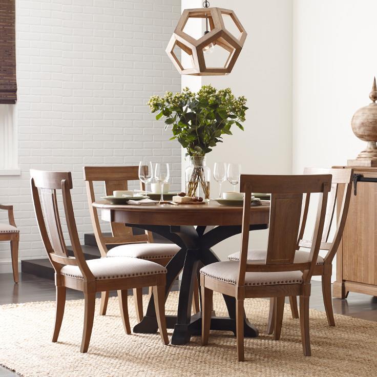 Kincaid Furniture Stone Ridge 5 Pc Dining Set - Item Number: 72-052P+4X72-061