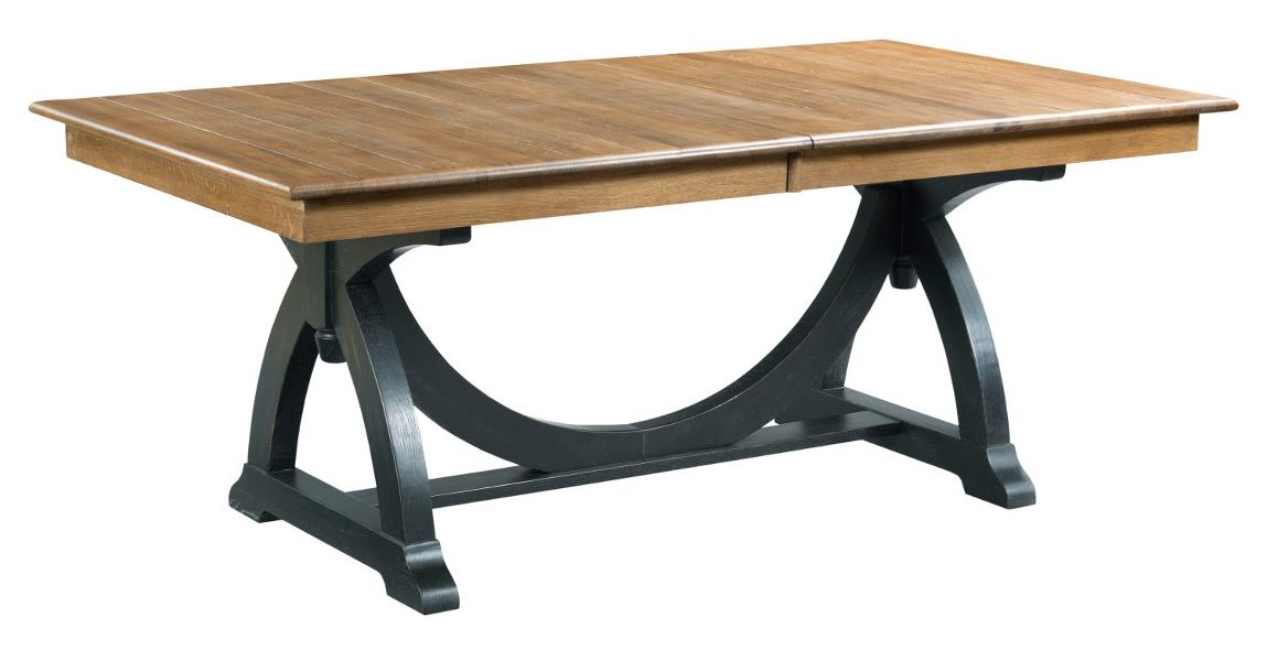 Kincaid Furniture Stone Ridge P Trestle Table Northeast - 72 trestle dining table