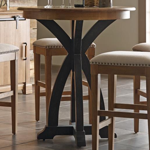 Kincaid Furniture Stone Ridge Round Bistro Table - Item Number: 72-059P