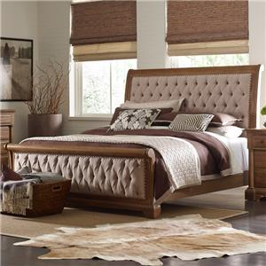 Kincaid Furniture Stone Ridge CK Size Sleigh Bed