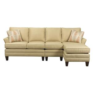 Kincaid Furniture Studio Select <b>Custom</b> 3 Pc Sectional w/ LAF Chaise