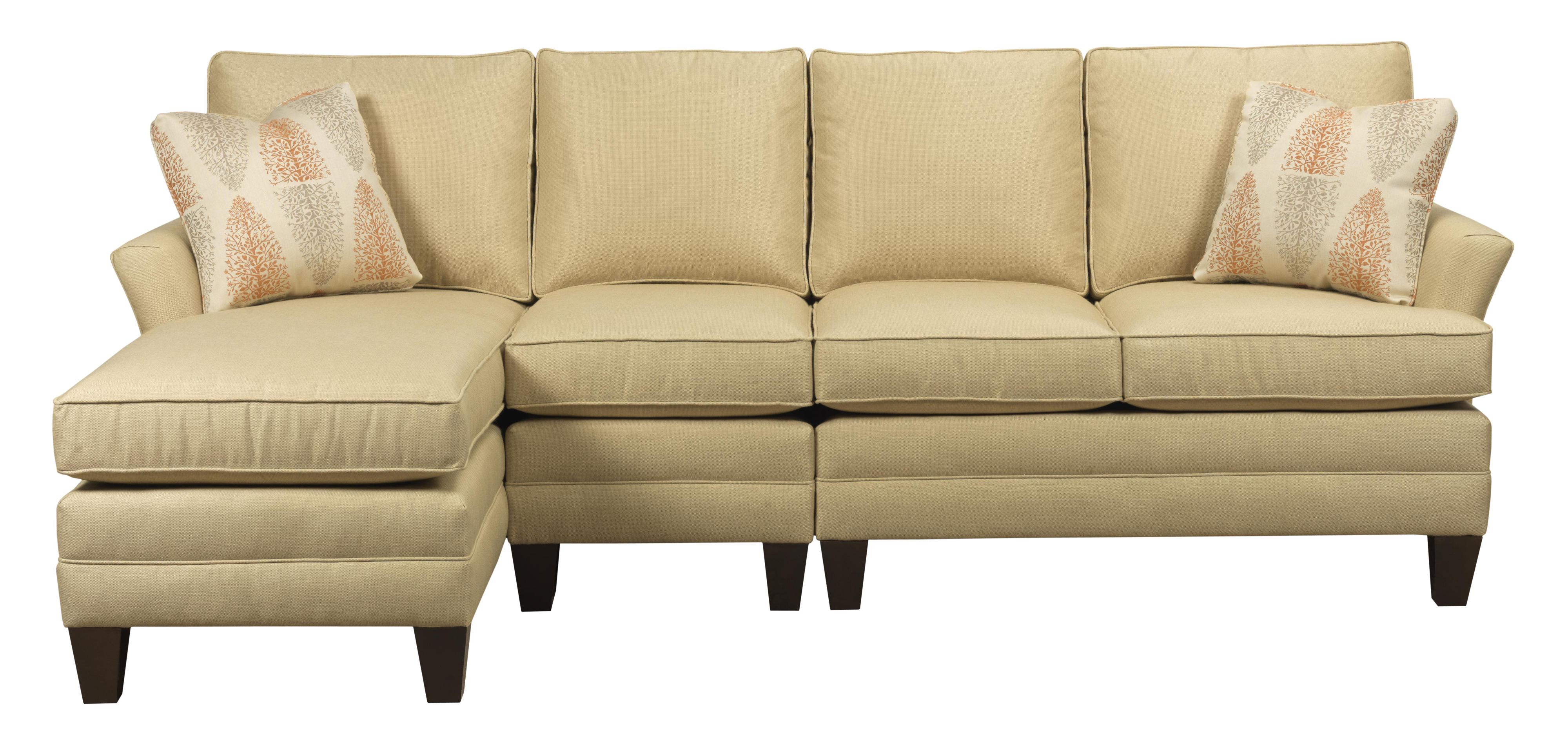 Custom 3 Pc Sectional w/ RAF Chaise