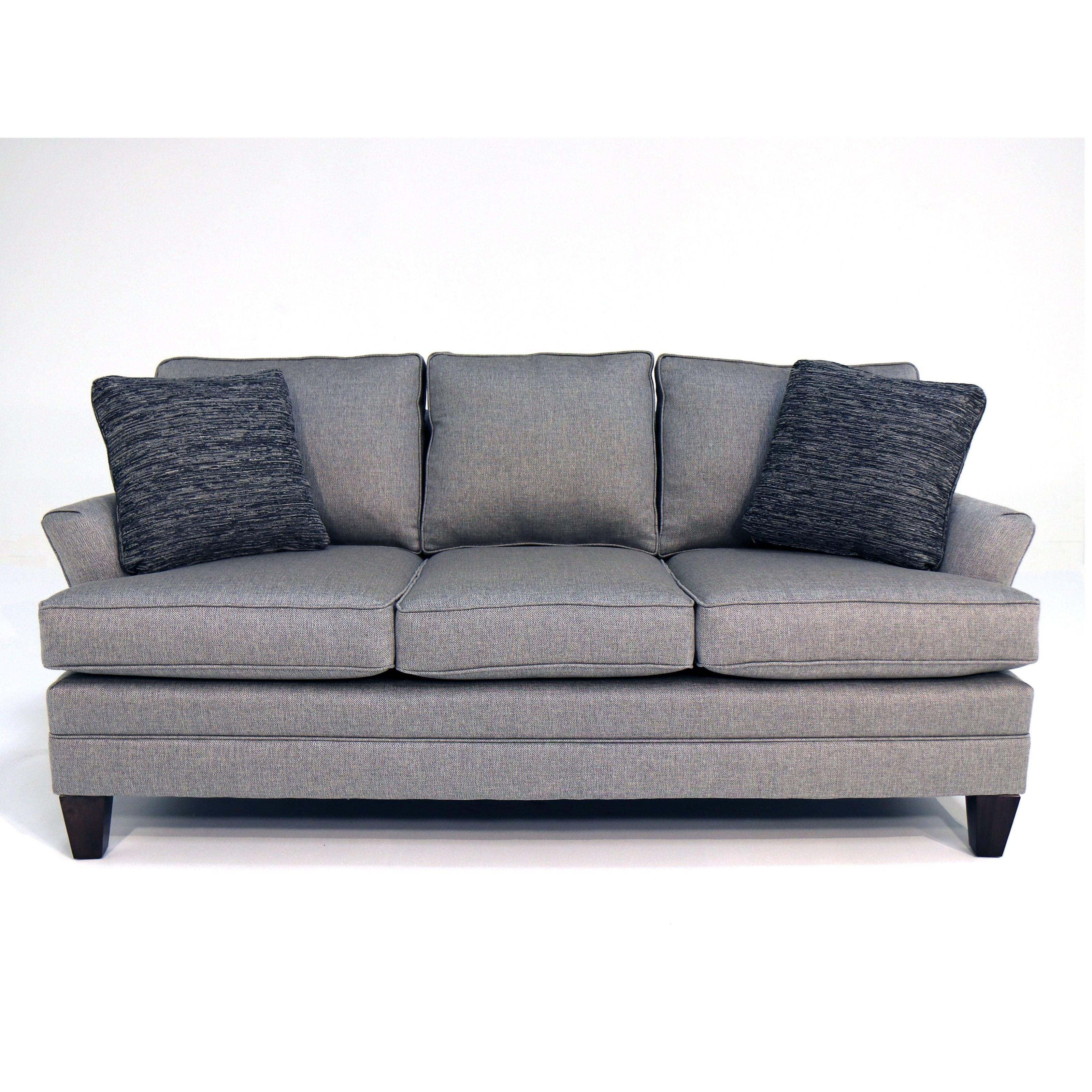 Customizable 75 Inch Apartment Sofa