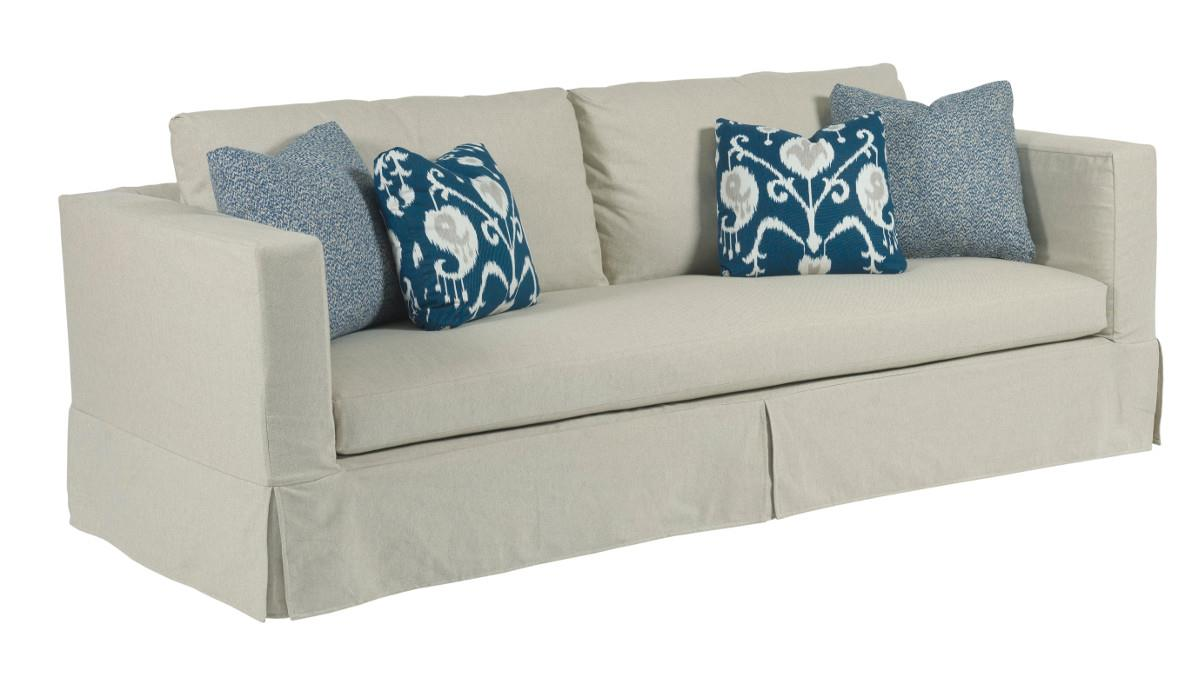 Fine Kincaid Furniture Sydney 651 96 Modern Slipcover Sofa With Alphanode Cool Chair Designs And Ideas Alphanodeonline