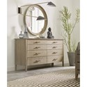 Kincaid Furniture Symmetry Dresser and Mirror Set - Item Number: 939-131+020