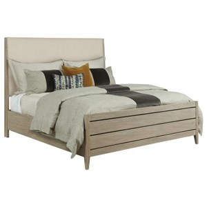 Incline King Upholstered Bed