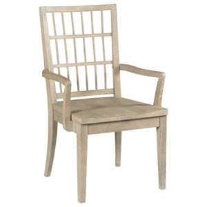 Symmetry Wood Arm Chair