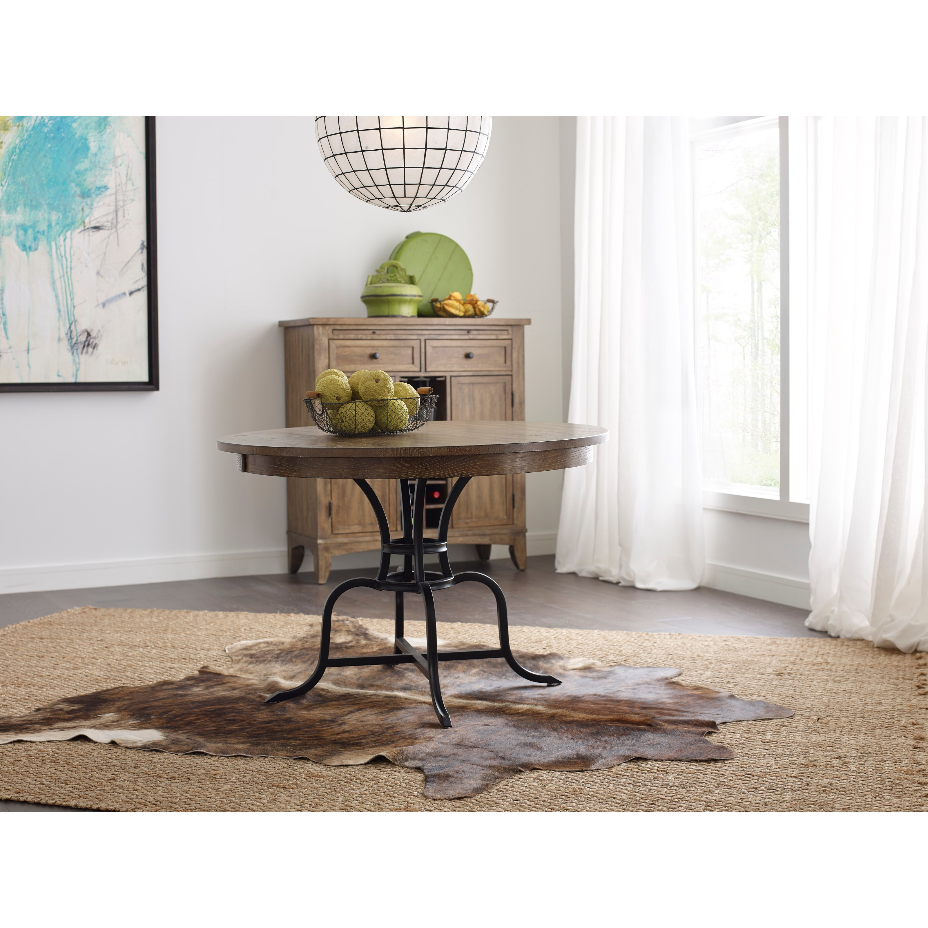 Kincaid Furniture The Nook 44 Quot Round Solid Wood Dining