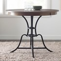 "Kincaid Furniture The Nook 44"" Round Counter Height Table w/ Metal Base - Item Number: 663-744P"