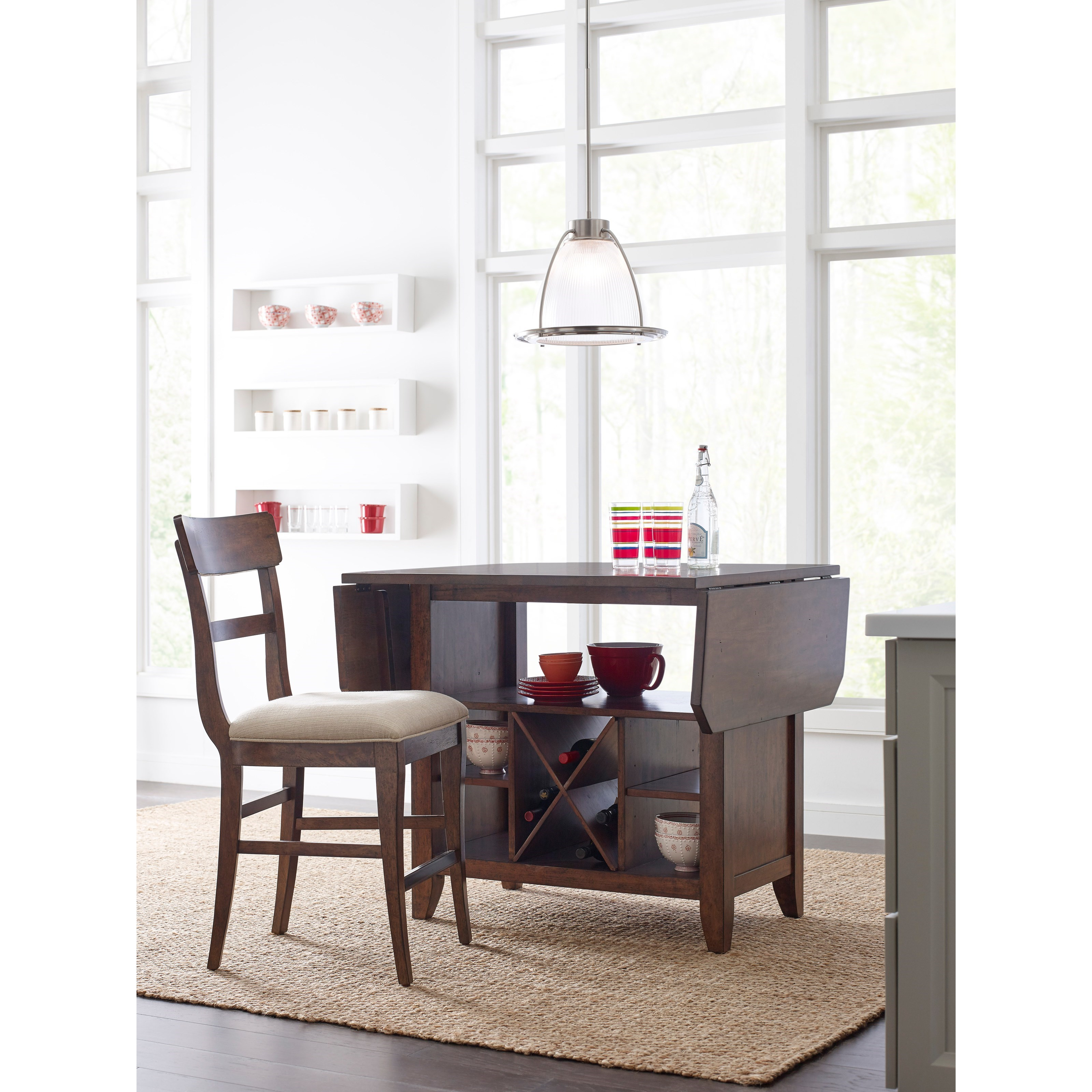 Kincaid Furniture The Nook Solid Wood Counter Height Stool