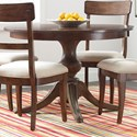 "Kincaid Furniture The Nook 44"" Round Dining Table w/ Wood Base - Item Number: 664-702P"