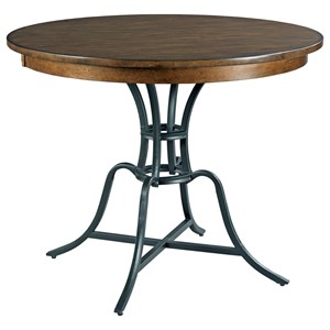 "44"" Round Counter Height Table w/ Metal Base"