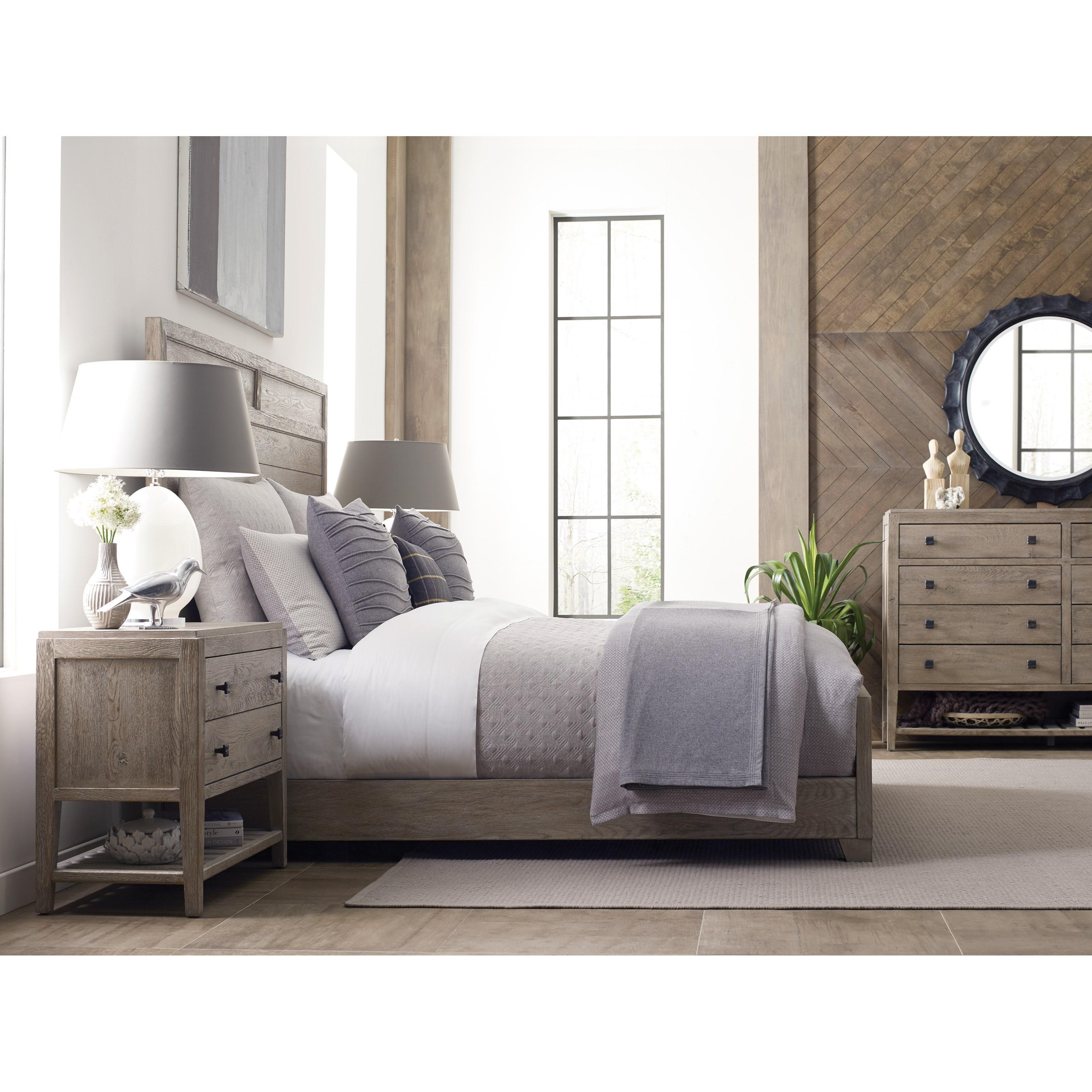 Kincaid furniture trails king bedroom group johnny - Kincaid bedroom furniture for sale ...