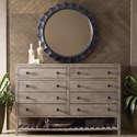 Kincaid Furniture Trails Linville Dresser and Mirror Set - Item Number: 813-131S+040C