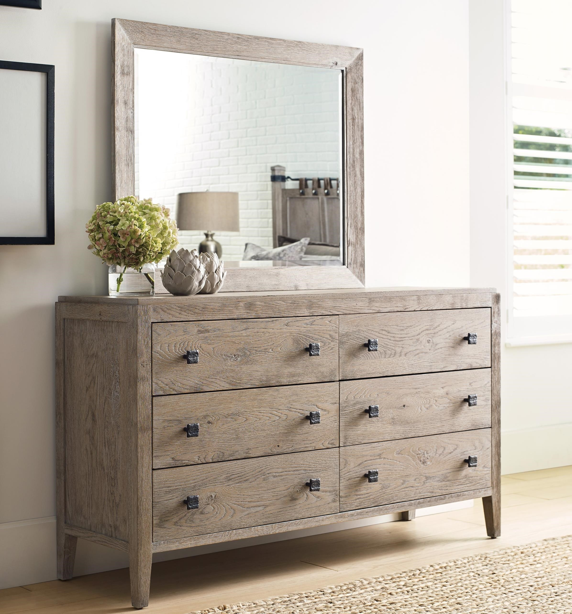 Braswell Dresser and Mirror Set