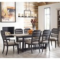 Kincaid Furniture Trails 7 Pc Dining Set - Item Number: 813-700S+4X620C+2X621C
