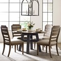 Kincaid Furniture Trails Five Piece Dining Set - Item Number: 813-702HP+4x620H