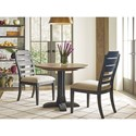 Kincaid Furniture Trails Three Piece Dining Set - Item Number: 813-706H+2x621C