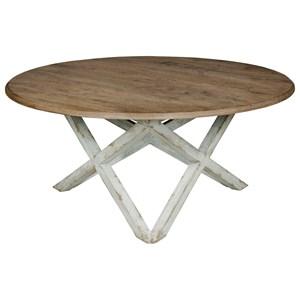 Kincaid Furniture Trails Colton Round Coffee Table