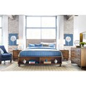 Kincaid Furniture Traverse Queen Bedroom Group - Item Number: 660 Q Bedroom Group 2