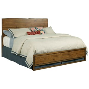 Craftsman Queen Size Live Edge Bed